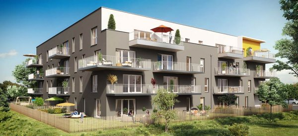 Construction 69 logements collectifs Carré verde Caen.JPG
