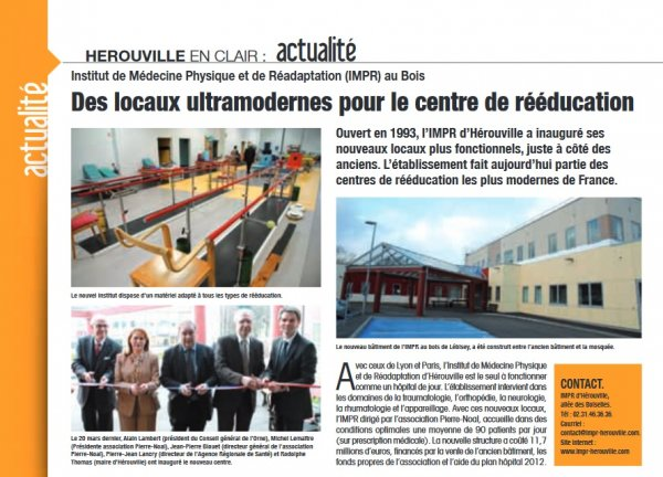 Inauguration IMPR Herouville